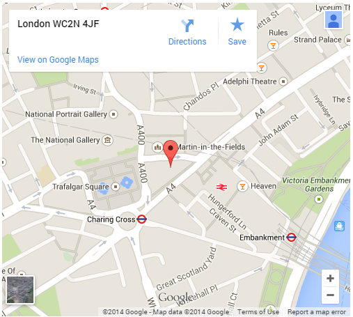 Contact Notary PublicLondon Charing Cross Central London